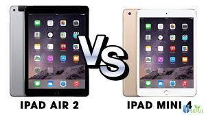 So sánh nên mua iPad mini 4 hay iPad Air 2 theo 8 tiêu chí quan trọng