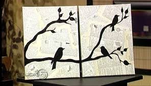 diy wall decor birds. diy wall decor birds i
