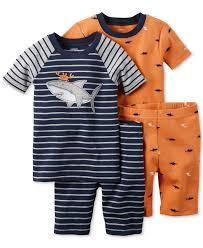 best carters toddler boy images toddler carter s toddler boys 4 piece crab shark pajama set