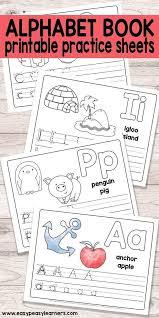 Free Printable Alphabet Book for Preschool and Kindergarten. | sch ...