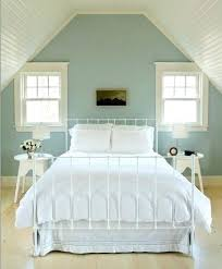 houzz attic bedroom attic bedroom accent wall bedroom with light blue  painted accent wall via houzz