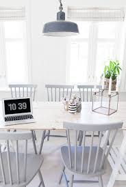 Best 25+ White dining chairs ideas on Pinterest | Fabric dining ...