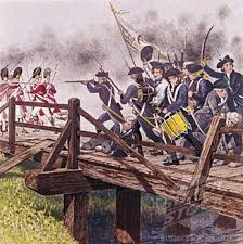 years ago today concord bridge battle nope today was paul  238 years ago today concord bridge battle nope today was paul revere s ride tomorrow is the battle of lexington and concord