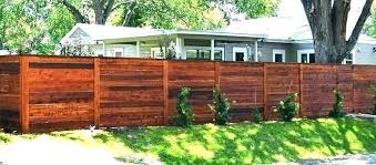 Wood Fence Color Ideas Popular Stain Colors With Cedar Behr