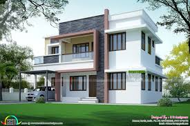 simple home designs. simple home plan in modern style kerala design and designs .