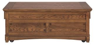 A white lift top coffee table with turned legs is the right choice for a country or shabby chic décor style. Mission Style Wooden Lift Top Cocktail Table With 4 Drawers Brown English Elm