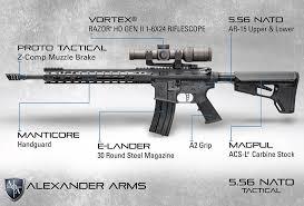 Alexander Arms - Our Alexander Arms 5.56 NATO Tactical ...