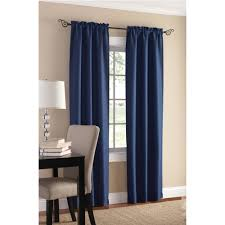 Curtains Mainstays Sailcloth Curtain Panel Set Of 2 Walmartcom