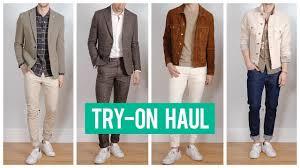 Mango Man Try-On Haul Spring <b>2019</b>   <b>Men's Fashion</b>   One Dapper ...