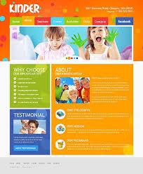 Kids School Website Template 20 Elementary Or Primary School Website Templates Website