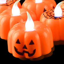 Small Pumpkin Designs 2pcs Classic Candle Lantern Pumpkin Design Small Led Durable Indoor Candle Lamp Candle Lantern Halloween Party Decoration In Party Diy Decorations