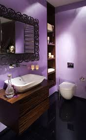 awesome bathroom design for small apartment gorgeous lavender color small apartment bathroom design with vessel