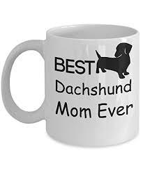 coffee mug dog lover gifts best dachshund mom ever white ceramic tea cup