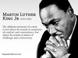 Quotes About Challenges Magnificent Martin Luther King Jr Challenges Quotes Inspiration Boost