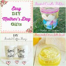 collage of creative homemade gifts for mother s day