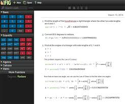 fastfig helps you math physics engineering homework the  the ultimate math