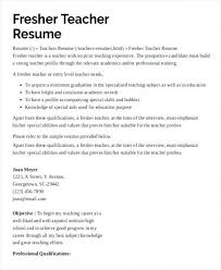 Picture How To Make Resume For Secondary School Teacher Job For ...