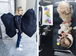airport travel with baby toddler car seats solo flight with two young kids