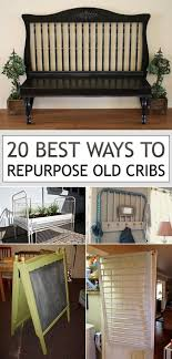 how to repurpose furniture. this is a great list of amazing ways to repurpose baby cribs piece furniture that you only use for few years they are item donate and how