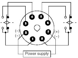 omron twin timer relay battery driven fuel pump 8 Pin Timer Relay Diagram do i have to connect pins 8 & 7 together with a jumper? or is this done internally? then i connect my pump ( ) to pin 6 (normally open) and my pump ground 8 pin time delay relay wiring diagram