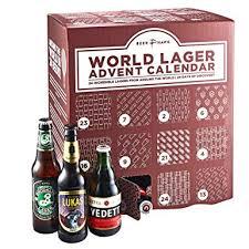 beer hawk world lager beer advent calendar 2018 24 craft beer selection gift set
