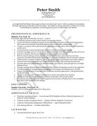 Real Estate Agent Job Resume Examples Resume Examples