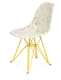 modernica shell chair base. all of my chair dreams have officially come true.confetti side shell on eiffel base - modernica, inc modernica d