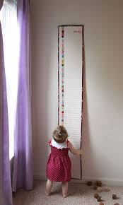 Embroidered Growth Chart Make An Embroidered Growth Chart Baby Quilts Baby Sewing