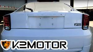K2 MOTOR INSTALLATION VIDEO: 2000-2005 TOYOTA CELICA LED ...