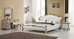 Luxury Gold Diamond Tufted Leather Sleeping Bed Contemporary French Empire  Bedroom Furniture Made In China Wooden Frame In Beds From Furniture On ...