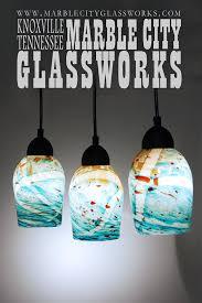 charming blown glass pendant lighting blown glass art crystal postighone hand blown blue yellow