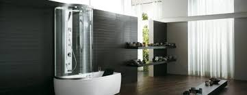 modern tub shower doors. space saving and modern bathtub shower combination with glass door tub doors e