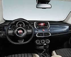 fiat 500x interior back. fiat 500x city look interiors space 500x interior back