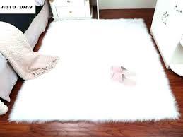 round fluffy rug plush carpet bedroom imitation wool window mat white pink uk rugs for fluffy white rug