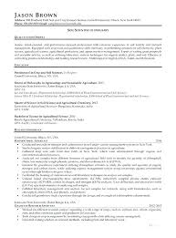 Writing A Resume Objective Cool Science Resume Science Resume Example Resume Example Science Resume