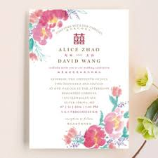 Traditional Wedding Invitation Chinese Traditional Wedding Invitations By Qing Ji Minted