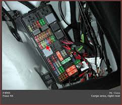 ml the cigarette lighter in the rear passenger area and hi fuse 45 in the rear fuse box is for the power outlets