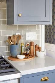 5 Ways to Style an Ugly Renter's Kitchen. Kitchen StagingDecorating Kitchen  CountersKitchen Counter DecorationsBlue ...