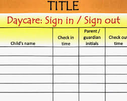 daycare sign in and out sheet printable wedding engagement bridal shower taboo game 54