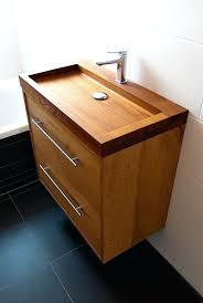 wooden bathroom sinks fascinating wooden bathroom sinks to create a classic style solid wood bathroom sink wooden bathroom sinks
