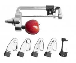 kitchenaid vegetable sheet cutter. spiralizer with peel, core and slice attachment kitchenaid vegetable sheet cutter p
