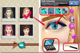android makeup game for s