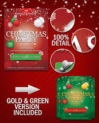 christmas psd poster images merry christmas flyer christmas party flyer template