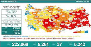Türkiye'nin 11 Temmuz koronavirüs tablosu açıklandı - Yeni Şafak