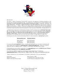 100 Sponsorship Letter Template For Events Fundraising