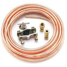 refrigerator kit. copper ice maker installation kit-pm8x1ds - the home depot refrigerator kit