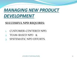 new product development and product life cycle strategies principles of marketing chap  managing new product development