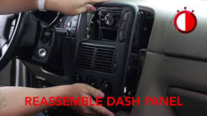 basic installation of an aftermarket stereo into a ford vehicle 2004 Ford Explorer Stereo Wiring Harness basic installation of an aftermarket stereo into a ford vehicle youtube 2004 ford explorer stereo wiring diagram