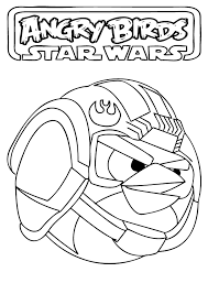 Angry Birds Star Wars Coloring Pages Kids Stuff Pinterest Kindangry