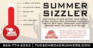 tucson az the tucson roadrunners proud american hockey league affiliate of the arizona coyotes announced a special ticket promotion available during